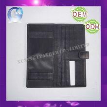 custom design Basic Leather Checkbook Cover
