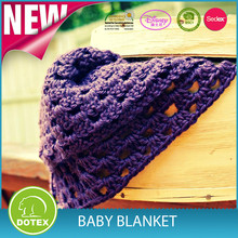 Best Quality High End China Made Handmade Crochet Baby Blanket