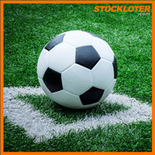 Outlet soccer-ball Size 5 stock PU soccer balls clearance liquidation lot 150710Vm