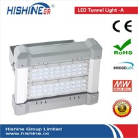 Hishine LED 3 years warranty Street Light Fixture IP65 With Bridgelux Chip moser