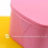 Plastic dental container box denture box