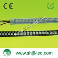 DC5V dimmable 144 LED per meter IP65 waterproof or nonwaterproof digital led stripe SMD 5050 rgb flexible strip light
