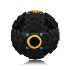8cm/12cm Pet Dog Voice Sound Ball Toy Squeaky Leakage Feeding Food Dispenser Ball