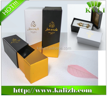 2015 special design cardboard perfume packaging box