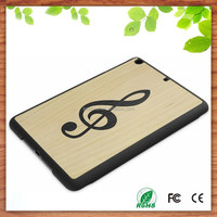 good sales in ebay wood back real wood snap case for ipad mini
