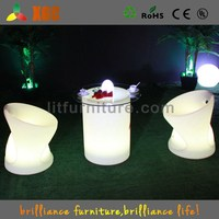 Rotomolding bar furniture multy-color PE material used wedding round tables