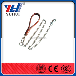 Dog round rings chain with knotted design zinc plating