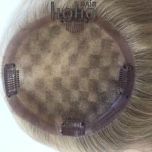 Clip in volumizer top hair piece