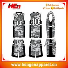 top sale customized league basketball jerseys camo cheap team/new style basketball jerseys design