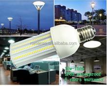 12w led used parking lot light poles lamp 36w ac100-300v led corn light