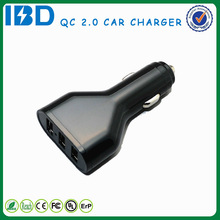 Automatic mobile phone charger IBD dual quick 2.0 charger promotion fast charging for Samsung Nokia for galaxy s5 mini si