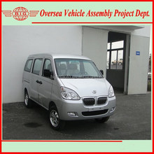 Euro IV Standard Gasoline Engine Super Cool A/C 8 Seats or 600 KG Loading Capacity New Van