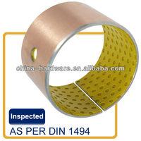 DX 11095 bush,PCM bearing bushing,UF TUP SF-2 slide bearing,105x110x95mm pom steel bush