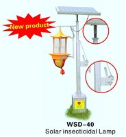 Solar Radial Pest Killing Lamp