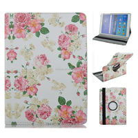 "Coloured Paintings Design Leather Stand Feature Flip Wallet Case Cover For Galaxy Tab A 9.7"" T550"