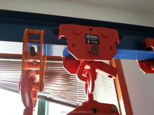 Portable electric chain lifting hoist