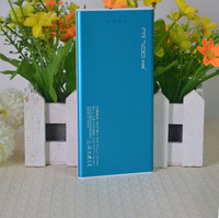 Portable 8000mAh Dual USB External portable battery charger, Ultra Slim cell phone charger for Mobile Phone