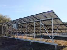 Ground Aluminum Solar Mounting System / solar panel brackets / solar panel mounting structure