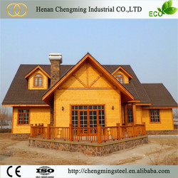 Easy And Quick Assembly Modern Anticorrosive Prebuilt Villa Luxury Homes Houses