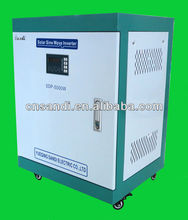 5KW single phase 220/230/240VAC to 3 phase 380/400/415/440VAC converter for taking ac motor