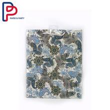 flowers pattern glitten bag