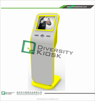 UPS coin dispenser self payment kiosk with card scanner indoor information kiosk by Cashless Payment