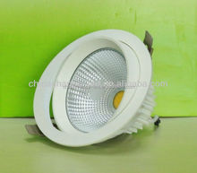 20w led adjustable downlight SAA CE ROHS adjustable led downlight