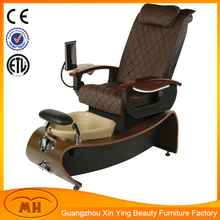 Comfortable pedicure spa chair with solid wood base/2014 hot sale