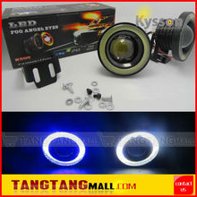 "2.5"" 3"" 3.5"" 30W Projector Lens Halo Ring COB Angel Eyes Led Fog Light"