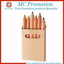promotional natural wood color pens pencils