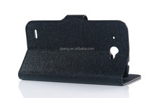 OEM leather phone case for huawei ascend plus h881c