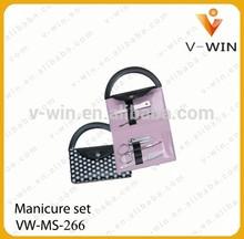 6 pezzi donne borsa manicure set/bomboniere set manicure