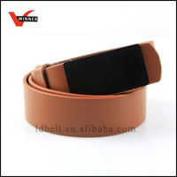 2014 new product top quality brown/white unisex leather belt