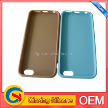 fashion soft TPU clear flip mobile phone case for iphone 6