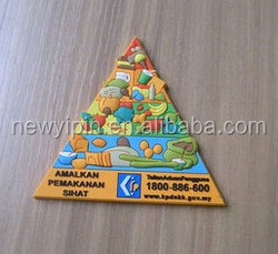 custom manufacturer fridge magnet / metal ,pvc, Coated paper fridge magnet