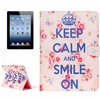 In Stock Wallet Pattern PU Leather Flip Bag Case For iPad 4 Made in China