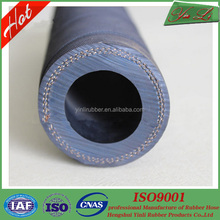 Industrial hydraulic rubber water hose fibre braided water pipes