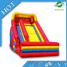 Funny halloween inflatable slide,fire truck inflatable slide,slide inflatable