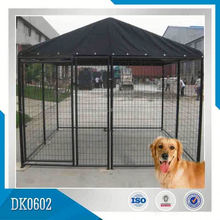 Factory Manufacturer Galvanized Chain Link Fence Dog Kennel