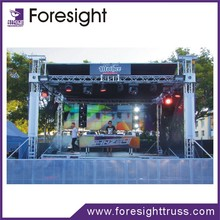 stage lighting truss equipment for outdoor events