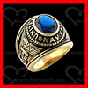 custom men US Marine Corps ring 316L stainless steel gold united state military ring jewelry