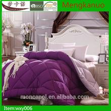 2015 Reversible comforters sets solid color,purple