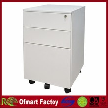 2015 newly updated steel metal mobile pedestal file cabinet