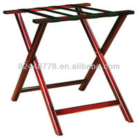 Hotel Wooden luggage rack with good quality solid wood----Your One Stop Hotel Products Center