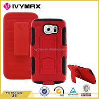 IVYMAX alibaba china cell phone accessories case cover for Samsung galaxy s6