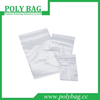 recolosable plastic packaging bag of sock
