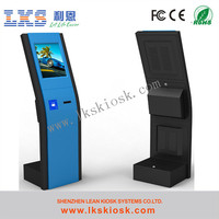 banking ticket dispense kiosk With IR Touch