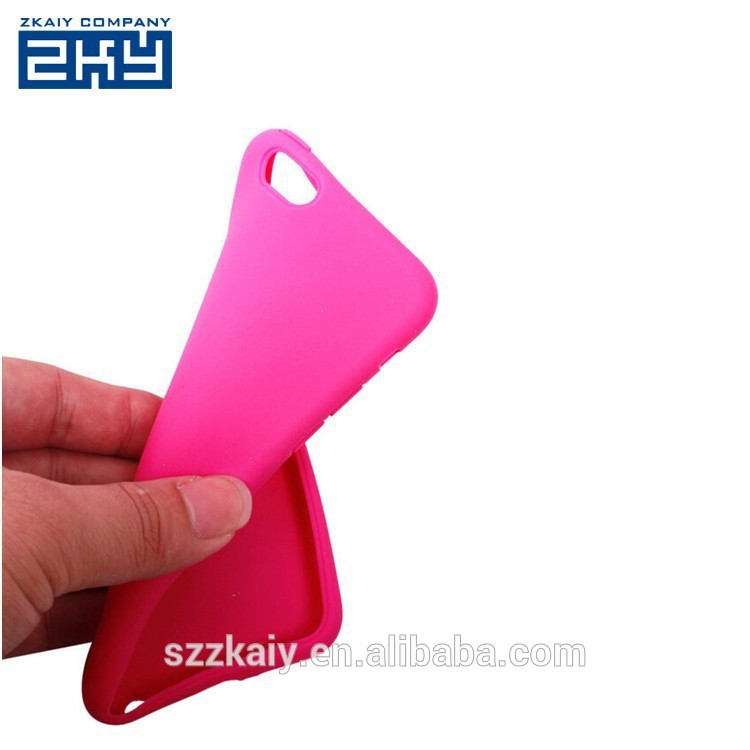 custom blank silicone phone case for iPhone 6