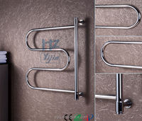 Wall Mounted Electric Heated Towel Rail Towel Warmer Bath Room Heater Concealed Mounting Towel Rack
