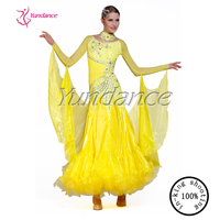 2015 Plus size ballroom dance dresses stage dance clothing for girls B-1397